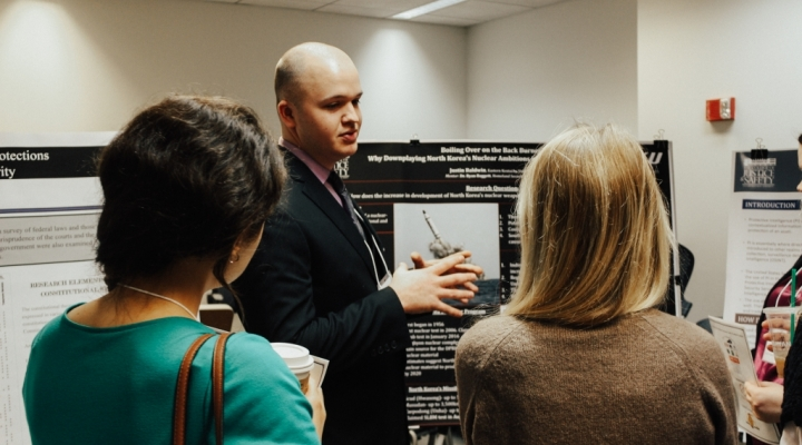 Poster Presentation at 3rd Annual Kentucky Intelligence Colloquium