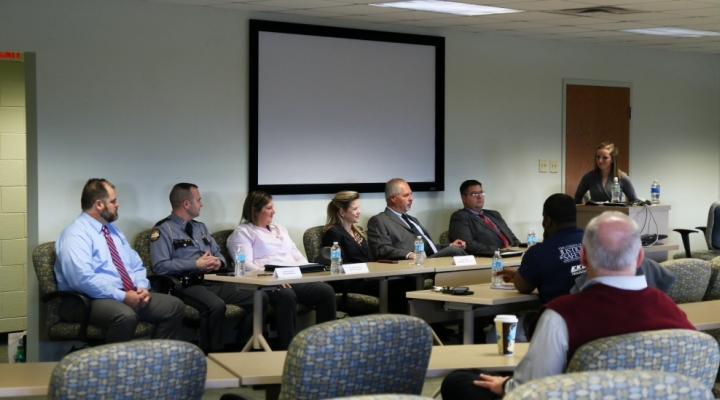 Fall 2016 College of Justice and Safety Career Panel