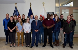 BGS IC CAE Visits Kentucky Intelligence Fusion Center
