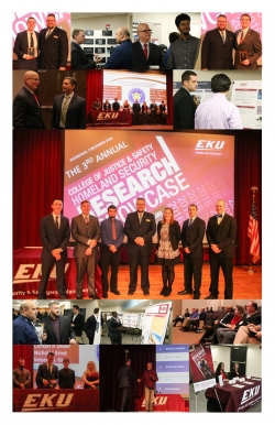BGS IC CAE Students Participate in 3rd Annual Homeland Security Research Showcase at EKU